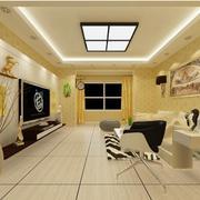 客厅时尚的家居墙纸