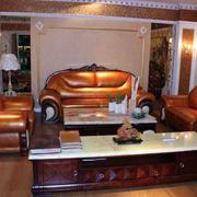 全友家具别墅客厅沙发设计