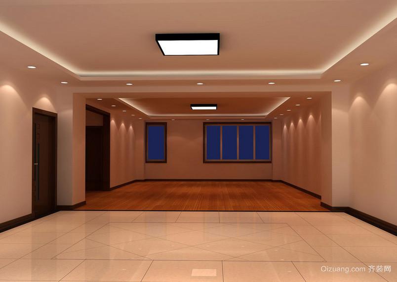 118平米时尚风格客厅装修效果图