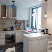 开放式厨房装修实例