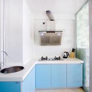 开放式厨房装修背景墙