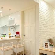 白色小清新客厅文化砖