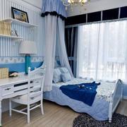 地中海卧室床幔欣赏