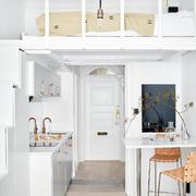 40平米欧式小厨房整体效果图