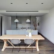 120平米欧式大户型浅色沙发设计