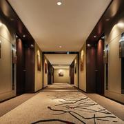 酒店走廊梅花地毯