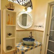 地中海开放式洗手台