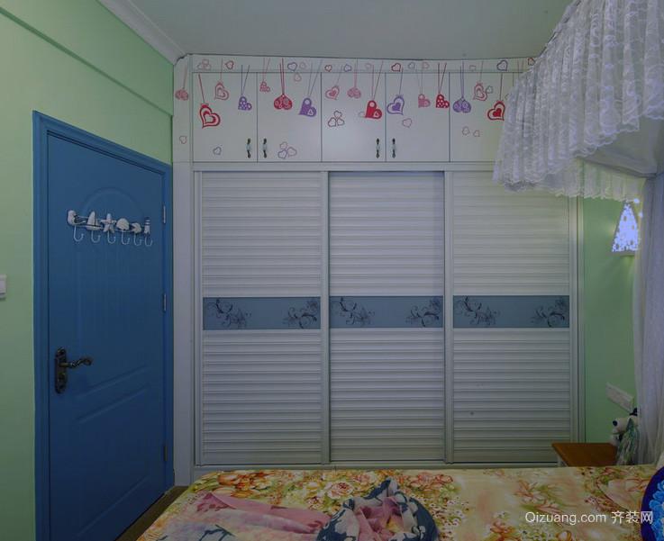 精美欧式大户型卧室衣柜装修效果图