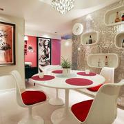 唯美风格餐厅设计图片