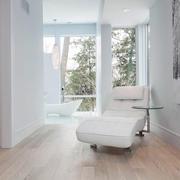 120平米房子简约白色装修效果
