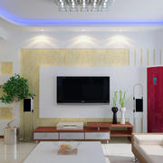 顾家沙发背景墙装修灯光设计