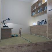 榻榻米床装修背景墙图