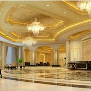 酒店欧式风格豪华的吊顶吊灯