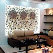 客厅沙发文化砖装饰