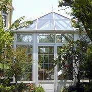 欧式风格的别墅阳光房