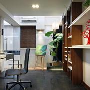 小书房装修灯光设计