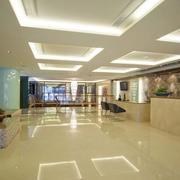 酒店大厅整体装潢
