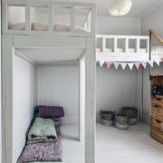2011年家装卧室高低床设计效果图