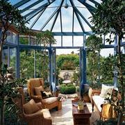 阳光房花园布置装饰