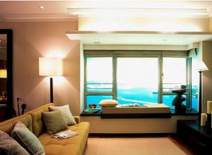 极致完美大户型欧式客厅飘窗装修效果图