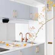 120平米唯美大气型厨房设计