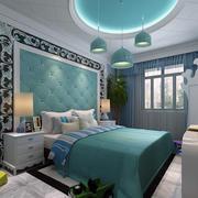 卧室背景墙装修色调搭配