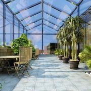 超大户型阳光房绿化
