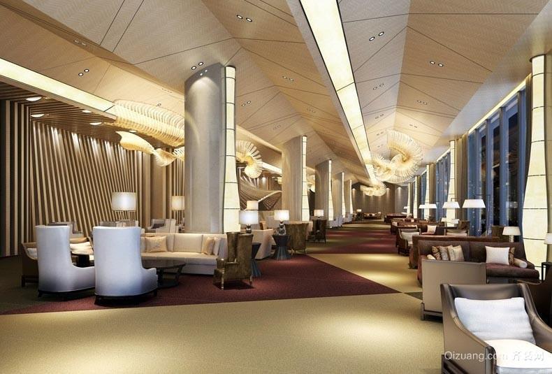 2015高级商务酒店吊顶装修设计效果图