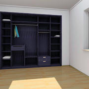 卧室衣柜装修色调搭配