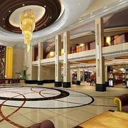 酒店大堂水晶奢华吊灯