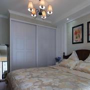 卧室衣柜装修背景墙图