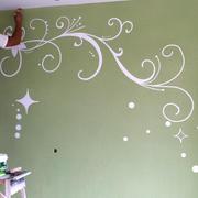 宜家风格硅藻泥电视墙