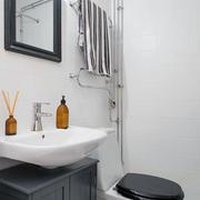 50平米户型之黑白简约式沙发