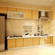 温馨色调厨房设计图片