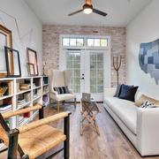 120平米欧式大户型客厅沙发设计