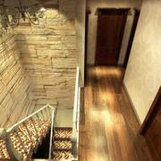 复式楼楼梯文化砖欣赏