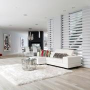 40平米小户型之白色客厅玄关设计