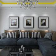 顾家沙发背景墙装修色调搭配
