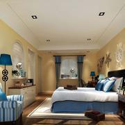 地中海卧室墙上装饰
