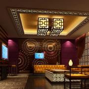 酒店大厅中式装饰