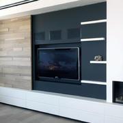 40平米欧式客厅隔板间设计