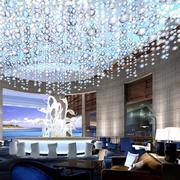 酒店大堂水晶大吊灯