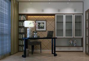 精致的现代小书房装修效果图