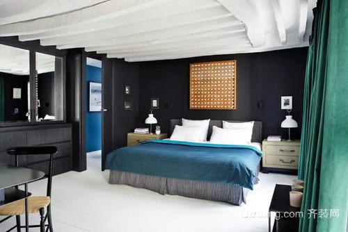 艺术魅力:三居室110平米别墅装修设计效果图