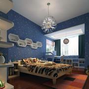 儿童房设计装修吊顶图