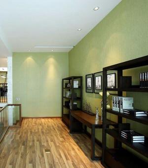 书香门第:中式书房装修效果图设计