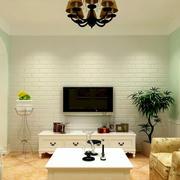 简约石膏板背景墙装饰