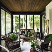 美式风格的阳光房