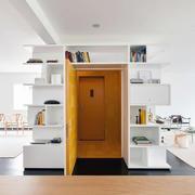 公寓内白色小卧室设计