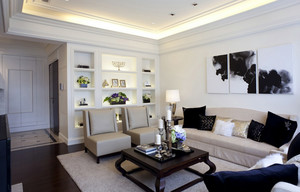 2015宜家风格90平米房屋装修设计图